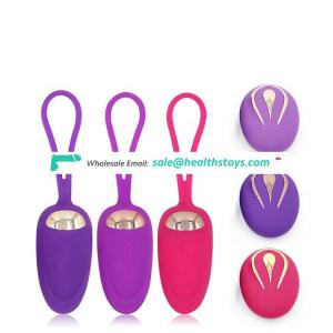 Hot selling silicone women sex toy vibrating love eggs bullet vibrator for