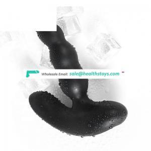 LEVETT Good Quality Silicone Prostate Massager Anal Vibrator Nitoc Soft Silicone Vibrating Butt Plug Anal Vibrator Prostate Mass