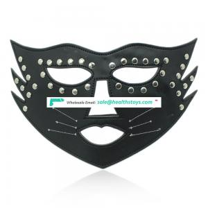 Leather Grumpy Cat Queen Funny Party Sexy Full Face Mask
