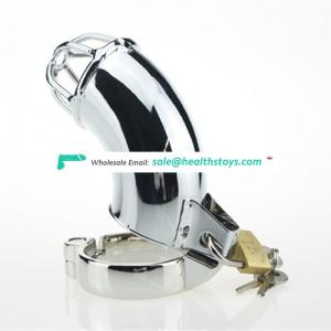 Male Penis cage Chastity cage Device Ring Binding Cock Cage with Lock