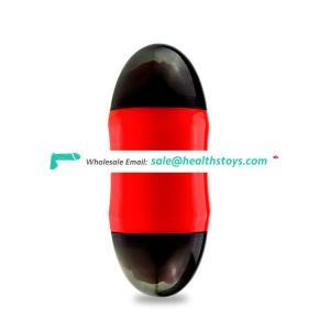 Male jelly cup masturbator vibrator sex toy for man