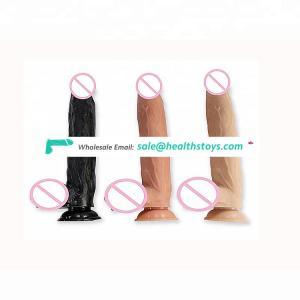 Medical Grade PVC/TPE Artificial Penis Super Long Thin Dragon Asian Dildo  For Female Sex