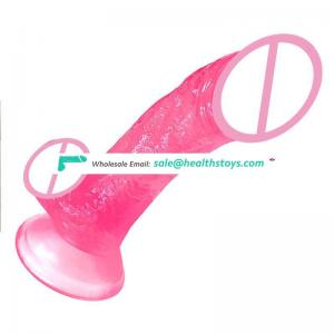 Medical Silicone Realistic Dildo Simulation Silicon Huge Dildos For Girls