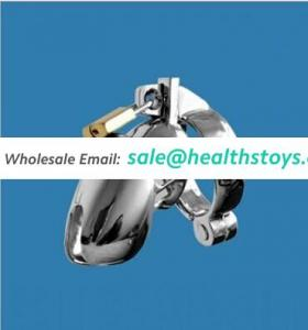 Men metal chastity device, metal CB6000