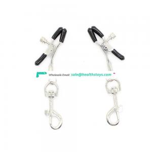 Metal Hook Decorate Breast Clips Nipple Clamps Vagina Clit Clip For Pleasure Stimulation