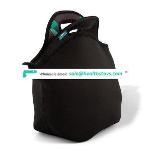Most popular neoprene pack freezable lunch bag with bottle Sleeve Set