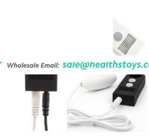 NEW Basic White & Black USB Sound Controld Vibrating Bullet Eggs Sex Toy for Women Climax