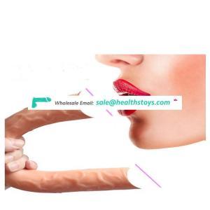 NEW XISE Sex Toys Large Black Silicone Rubber Dildo for Female Masturbation