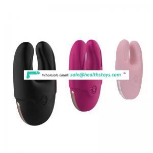 New Design Rabbit Vibrator High Quality Silicone Waterproof Massager Love Eggs Female Masturbation USB Charger Rabbit Vibrator