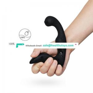 New Released Magic Wand Full Smooth Silicone Prostate Massage Made in China For Man