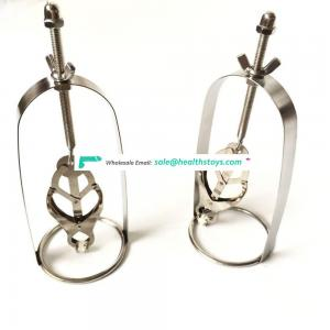 Newest Well Made High Quality Stainless Steel Powerful Butterfly Nipple Clamps With Hood