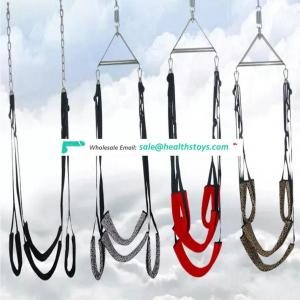 Nylon 360 Spinning Sex Swing Bondage Sex Sling Stand for Different Sex Positions Adult Products