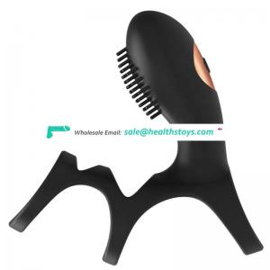 Popular Novelty Soft Silicone For Man Adult Male Masturbation Cock Ring Sex Toys
