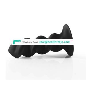 Private Pleasure Soft Silicone Mini Black Men Butt Plug Anal Sex Toys