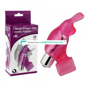 Rabbit silicone 7-mode vibrating Cock Ring Sex Toys Penis Ring Fetish Ring for men
