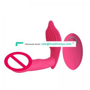 Remote vibration masturbator invisible wearable vibrating rod USB rechargeable silicone clitoral vaginal massager