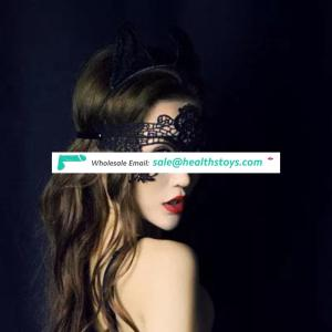 SM Wear Black Sexy Carnival Party Eye Mask For Ladies Sex Party Venice Lace Mask Women