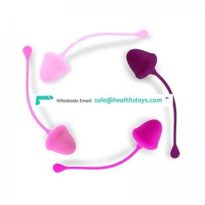 Set of 4 Premium Silicone Vaginal Kegel Balls for Kegel Exercise For Women