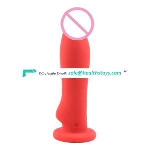Sex strapless  big long thin vibrator big dildo for women