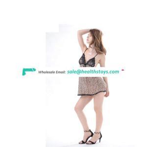 Sexy underwear wholesale leopard print skirt hot style sexy pajamas