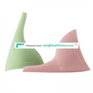 Soft flexible Female urination device portable Stand up pee cups for women