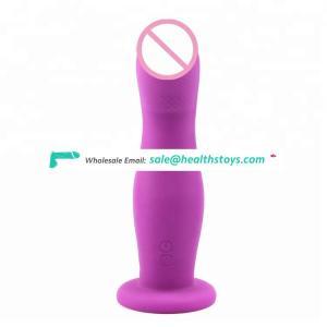Vibrator dildo with belt sex toy vibrating thrusting dildo