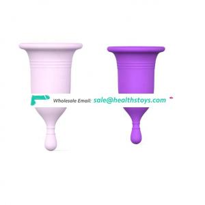 Wholesale Reusable Hygiene Period Moon Cups Silicone Menstrual Cup for women