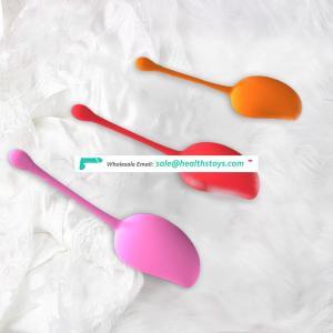 aixiASIA 2018 Hot Sale Silicone Vaginal Dumbbell Ben Wa Balls  Mango Kegel Ball Exercise Balls for Women Vagina
