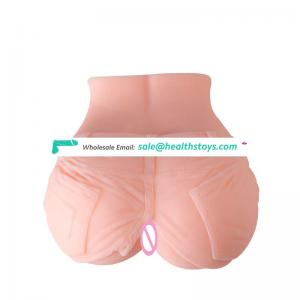 big ass Realistic Pocket Mouth Oral Masturbation Cup Artificial Pussy Body Care Toys for Men