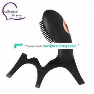 waterproof new design rechargeable vibrating cock ring for male penis ring silicone
