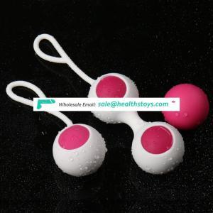 2 Pcs/set medical safe silicone kegel ball vagina exercise ben wa ball smart love ball for women