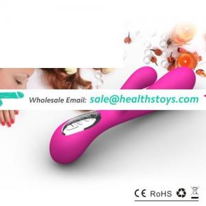 2017 silicone big rabbit vibrator ,women masturbate toy lady sex products, good price adult toys