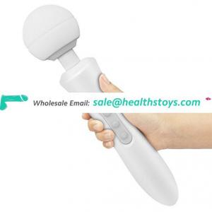 2018 New waterproof big handy head massager wireless magic wand massager