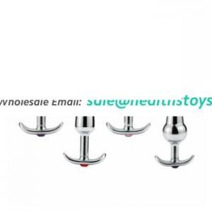 4 Model Metal Anal Plug Stainless Steel Vagina Anal Butt Plug