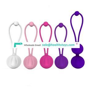 5pcs different weights customized kegel balls sex toy for women kegel exercises pelvic floor