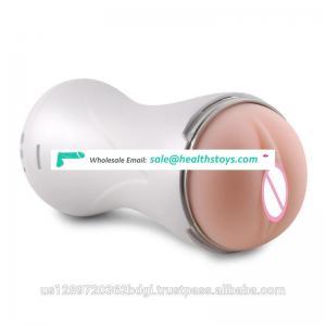 ABS Shell & Ultra Soft TPR Masturbator Machine for Men Vagina and Penis Sex Male Masturbation Aircraft Cup