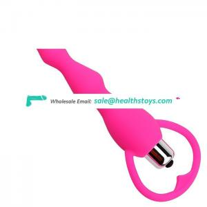 Anal Plug Silicone Anal Vibrator Butt Plug  Prostate Massage