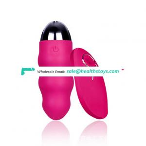 Best Gift High Quality Very Strong Vibrating Wireless Jump Eggs For Girls