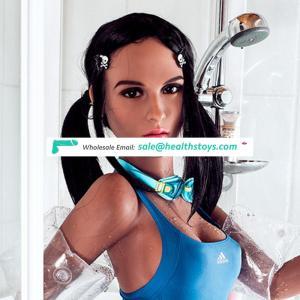 Best Seller 158CM TPE Metal Skeleton Real Women Vaginal Sex Doll For Old Boy Sex Toys Online Shop