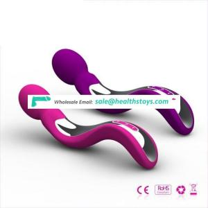 Best silicone erotic factory wholesalers, strong and powerful body wand massagers lady