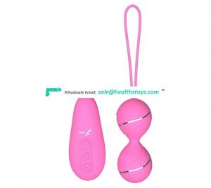 Chinese Vagina vibrator Sex Toy remote control kegel ball massager for woman