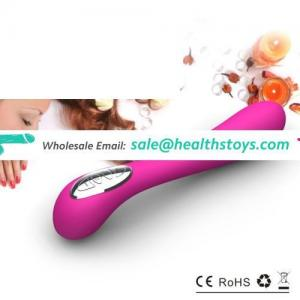 Classical and stylish G-spot sex products secret sex toy powered by rechargeable Li-ion battery for females