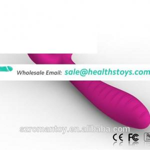 Cordless 7 Function independent clitoral stimulation rabbit sex toys USB charger rabbit vibrator made by medical silicone