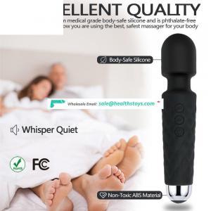 Cordless Waterproof USB rechargeable Personal Handheld Massager Pussy Magic Wand Massager Vibrator