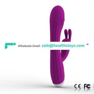 Cordless handhold adult sex toy with 7 modes vibrating made by medical grade body safe silicone materials