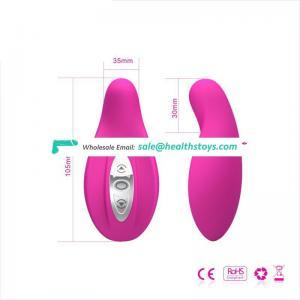 Cute pink silicon mini vibrator bullet for vagina anal massage