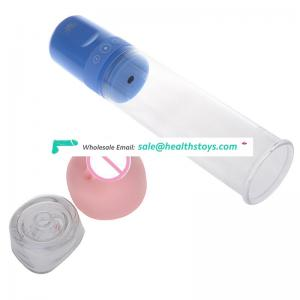 Dick vibrator masturbation cup Exerciser Vacuum Enlargement for Penis Pump for dildo