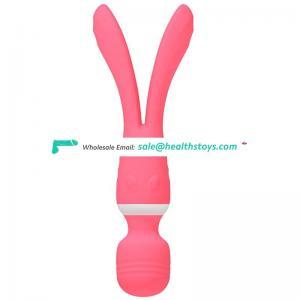 Direct manufacturer 2 motors multi-functional body vagina  AV wand massager nipple stimulating vibrator  sexual toys