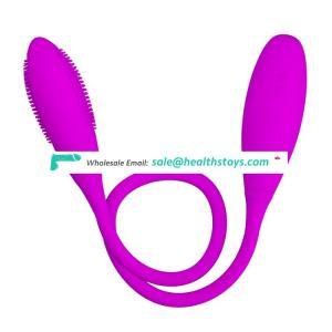 Dual Heads Powerful Anal Vagina Stimulator Mini Vibrator For Female Masturbation