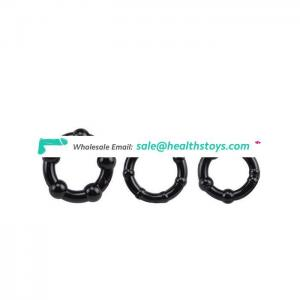 Factory Directly 3 Size Delay Ejaculation Rubber Cock Ring